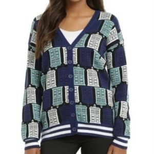 Hot Topic Exclusive BBC Doctor Who Navy Sweater